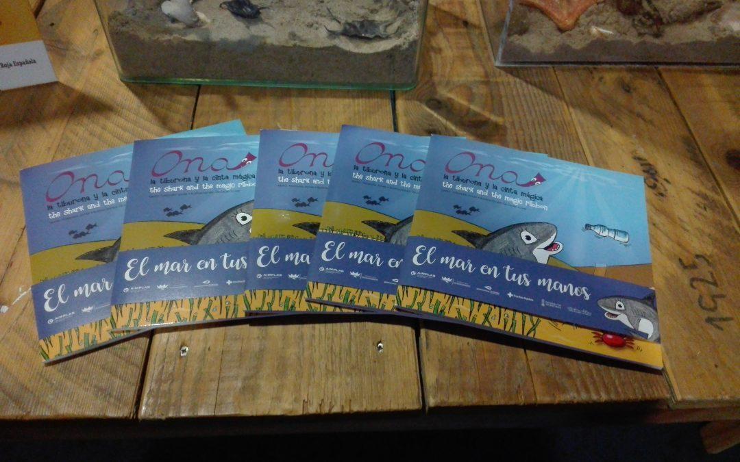 Ona, la tiburona, y la cinta mágica llegan para salvar los mares y océanos